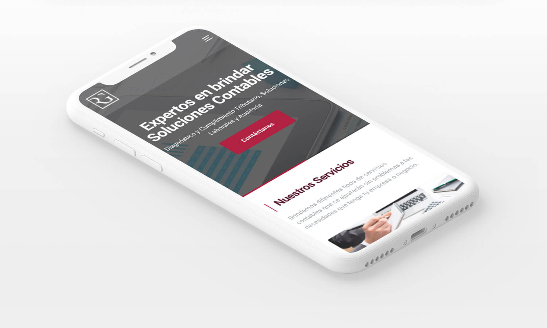 R&G Consultoría - Página web